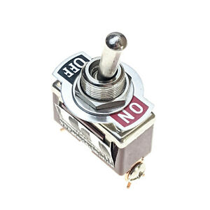 Industec Heavy Duty 20 Amp Spst 2 Screw Toggle Switch Maintained 2 Pos 12v