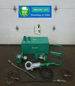 Greenlee 446 Porta Puller Tugger Tool Use With Your Ridgid 700 Threader
