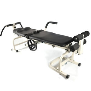 Multi functional Cervical Spine Stretcher Orthotics Massage Bed Traction Table
