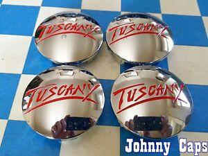 Tuscany Wheels New Chrome Center Caps 31178 T Custom Center Caps Qty 4