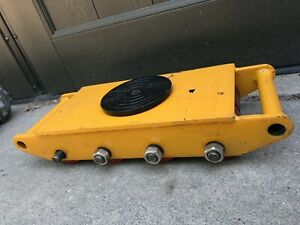 12 Ton Dolly Skate Machinery Roller Mover Cargo Trolley 12t Heavy Duty