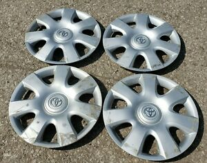 2002 2004 Toyota Camry Hubcap Wheel Cover 15 Set Of 4 Oem