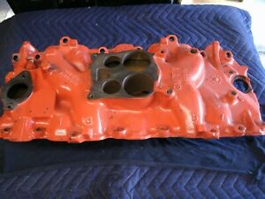Original 1974 Big Block 454 Intake Manifold Good Condition