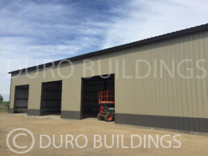 Durobeam Steel 100x200x15 Metal I beam Clear Span Building Made To Order Direct
