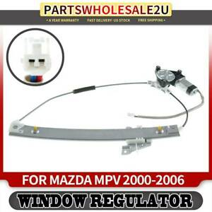 Rear Left Driver Window Regulator With Motor For Mazda Mpv 2000 2006 Lc6273590a