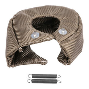 Turbo Heat Shield Blanket Fiber Cover For T3 Gt25 Gt28 Gt30 Gt42 Gt46 Gt47