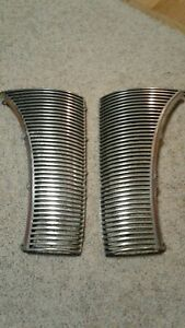 1940 Ford Deluxe Pair Grille Half Great Condition Appears To Be Nos