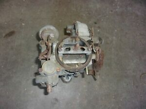 Vintage Rochester 1 Bbl Monojet Carburetor International Scout