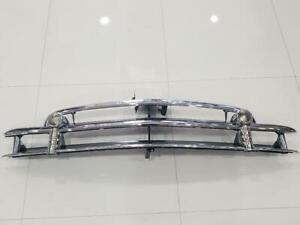 1950 Chevy Chevrolet Car Grille Original Triple Plated Chrome Show Condition