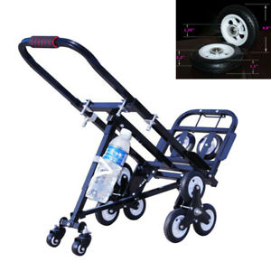 Stair Climbing Cart 420lbs Max Load Portable Folding Hand Truck Luggage Cart