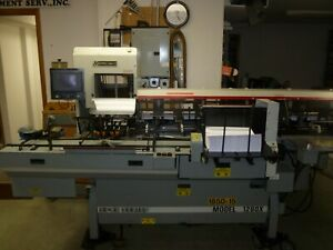 Mailcrafters Model 1200x 6 station Inserter Up To 10 X 14 Envelope See Video