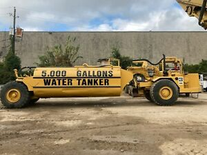 Cat Caterpillar 613 Water Wagon Truck 5000g 2 Available Operation Video