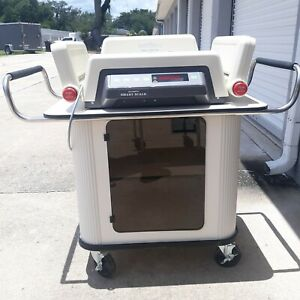 Olympic Smart Scale 56350 Natus Pediatrics Model 50 W Cart Used Great Condition