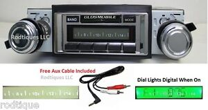 1962 1963 Cutlass F85 Radio W Free Aux Cable 230 Stereo