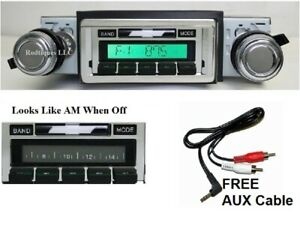 1968 1976 Nova Radio With Free Aux Cable 230 Stereo