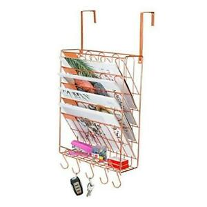 New Superbpag Cubicle Hanging File Organizer 6 Tier Wall Mount Document Letter