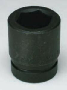 Wright Tool 1 Drive Standard Impact Socket 6 Point Sae Metric
