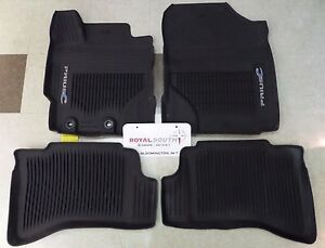 Toyota Prius C 2012 2019 All Weather Rubber Floor Mat Liners Genuine Oem Oe