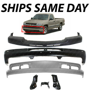 New Primered Front Bumper Face Bar Cover For 2007 2013 Chevy Silverado 2500hd