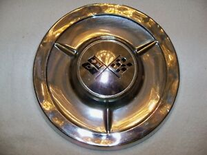 One Chevrolet Chevy Belair Impala Nomad Biscayne Delray Oem Hubcap Wheel Cover