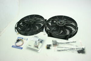 Zirgo 10295 Super Cool Pack Two 2122 Fcfm 14 Inch Fans Adjustable Temp Switch