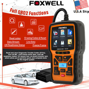 Foxwell Nt301 Obd2 Scanner Professional Mechanic Check Engine Light Code Reader