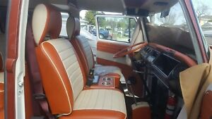 1968 74 Vw Bus Front Seat Covers And Matching Door Panels