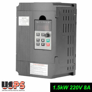 1 5kw Single Phase Motor Speed Control Vfd Variable Frequency Drive Inverter