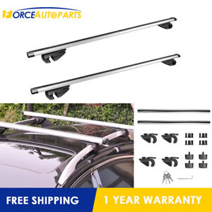 For Most Cars 2 Universal Roof Rack Cross Bar Max 44 Width 48 1 4 Long