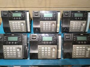 Lot Of 6 Rca Business Expandable 4 Line Telephone Phone 25424re1 W Caller Id