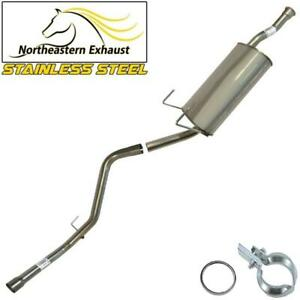 Stainless Muffler And Tail Pipe Fits 2000 2006 Toyota Tundra