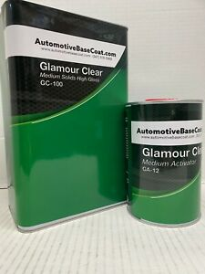 High Gloss Urethane Clear Coat Gallon Kit 4 1 W h Activator Temp Of Your Choice