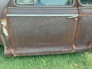 1941 Chevrolet Special Deluxe Coupe Door Trim Right Left Sides