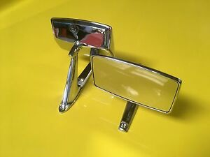 Detomaso Pantera 71 74 Side Mirrors With Gasket Set Of Two