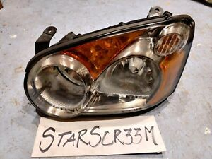 2004 2005 Subaru Impreza Driver Headlight Left Side Oem Wrx 2 5rs