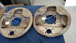 1939-1942 Ford Passenger & 1939-1941 Commercial Right Rear Backing Plate $35.00