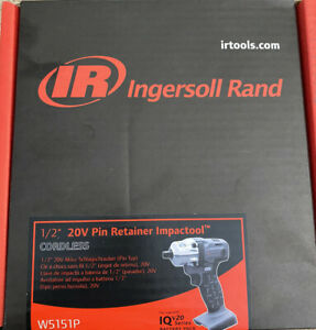 Ingersoll Rand 20v 1 2 Retianer Pin Cordless Impactw5151p Bare Tool Only