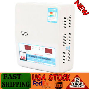 15kw Ac Automatic Voltage Stabilizer Regulator Power Supply 130 270v To 220v Usa