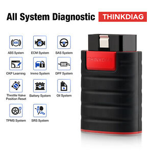 Thinkdiag Bluetooth Obd2 Scanner Ecu Coding Bidirectional All System Scan Tool