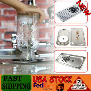 Stainless Steel Cup Washer Cleaner Glass Rinser For Bar Tea Coffee Milk Durable
