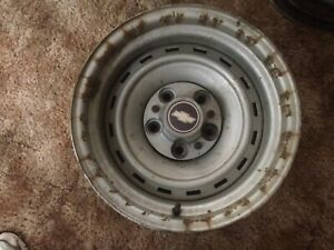 Chevrolet Truck Rally Wheel 15 X 8 5 Lug 1 Wheel