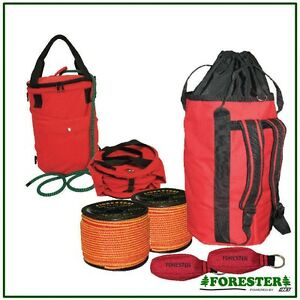 Arborist Throw Bag Kit 2 Throw Lines 2 Throw Bags Rope Bag By Forester