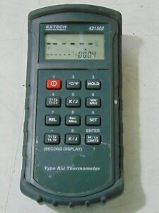 Extech 421502 Thermocouple Thermometer Type J K