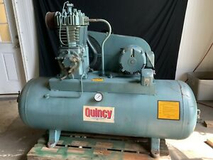 Quincy 80 Gallon 3 Phase Model 325 15 5 Hp
