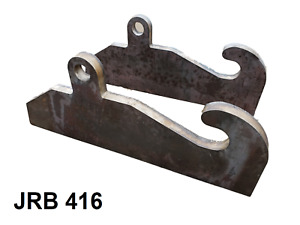 Jrb 416 Quick Attach Coupler Blank Adapter Jrb Loader Mounts Free Shipping
