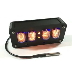 In 12 Nixie Clock 4 digit Nixie Tube Clock Time Date Temperature Auto Switching