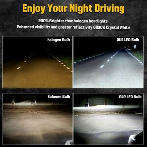 6x 4 Sides Led Front Light For Jeep Grand Cherokee 1999 2000 2001 2002 2003 2004