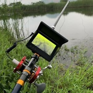 4.3''Visual Fish Finder Underwater IR Night HD Fishing Camera Monitor Detector*