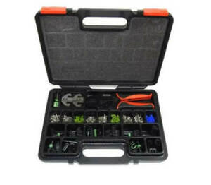 Pertronix T3005 Weather Pack Crimp Tool Connector Kit