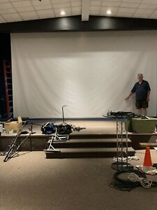 Rollermatic Electric Projector Screen